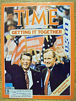 Time Magazine-july 28, 1980-getting It Together