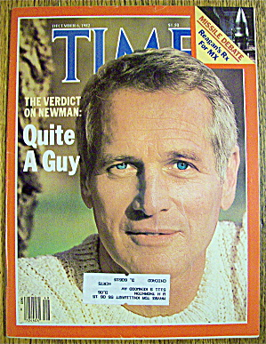 Time Magazine-December 6, 1982-Paul Newman (Image1)