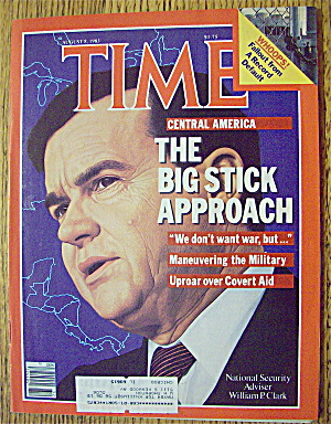Time Magazine-august 8, 1983-william P. Clark