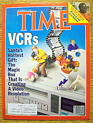 Time Magazine-december 24, 1984-vcrs