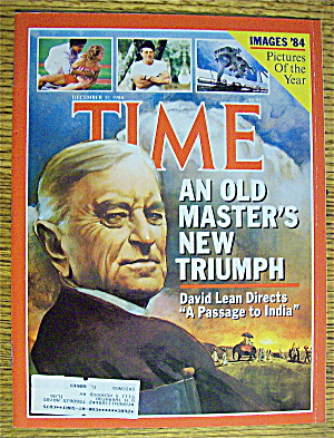 Time Magazine-december 31, 1984-david Lean