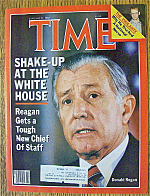 Time Magazine-january 21, 1985-donald Reagan