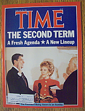 Time Magazine-January 28, 1985-Reagan's Second Term (Image1)