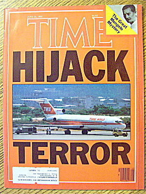 Time Magazine-june 24, 1985-hijack Terror