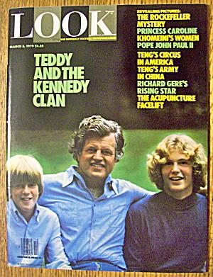 Look Magazine-March 5, 1979-Teddy Kennedy & Clan (Image1)