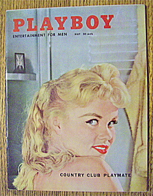 Playboy Magazine-may 1958-lari Laine