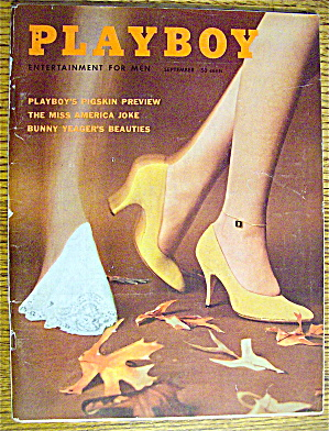 Playboy Magazine-september 1959-marianne Gaba
