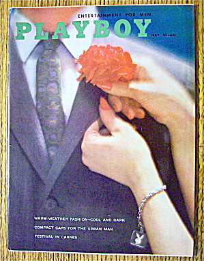 Playboy Magazine-may 1960-ginger Young