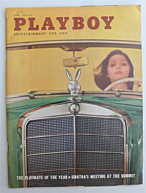 Playboy Magazine-june 1960-delores Welles