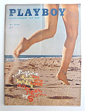 Playboy Magazine-july 1960-teddi Smith