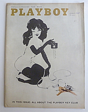 Playboy Magazine-august 1960-elaine Paul