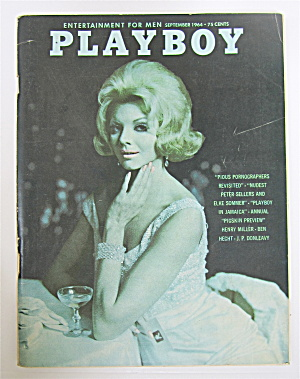 Playboy Magazine-september 1964-astrid Schultz