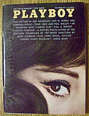 Playboy Magazine-October 1964-RoseMarie Hillcrest (Image1)