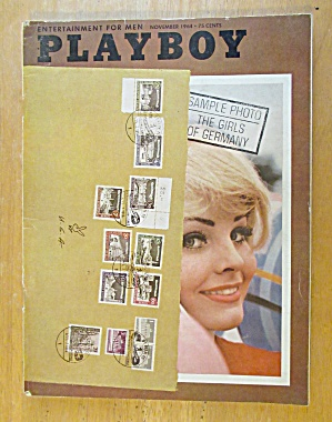 Playboy Magazine-november 1964-kai Brendlinger