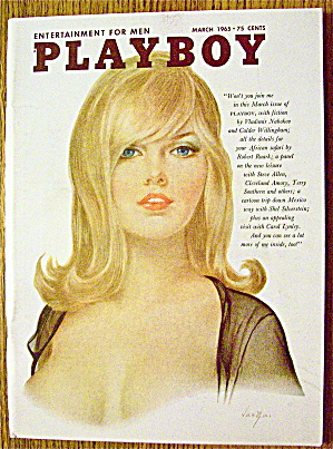 Playboy Magazine-march 1965-jennifer Jackson