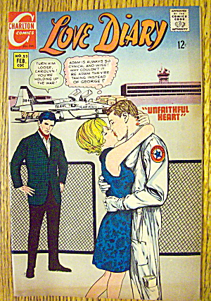 Love Diary Comic #53 February 1968 Unfaithful Heart