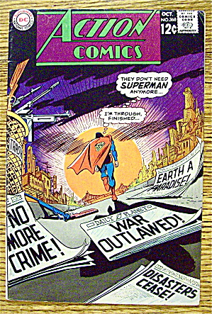 Action Comics #1368 October 1968 Don't Need Superman