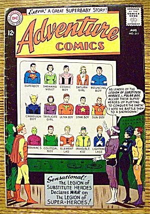 Adventure Comics #311 August 1963 (Image1)