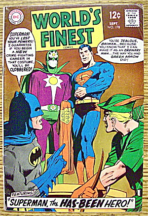 World's Finest Comic #178 September 1968 Superman
