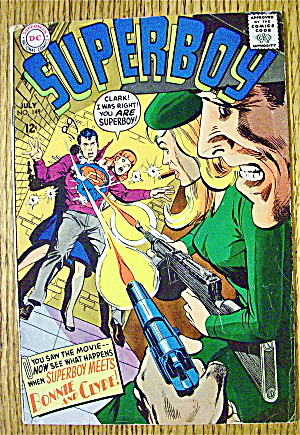 Superboy Comic #149 July 1968 Bonnie & Clyde (Image1)
