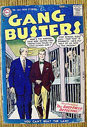 Gang Busters Comic #56 February-march 1957
