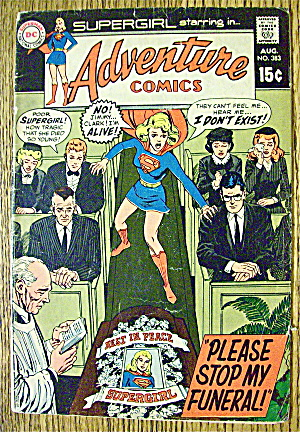 Adventure Comics #383 August 1969 Stop My Funeral