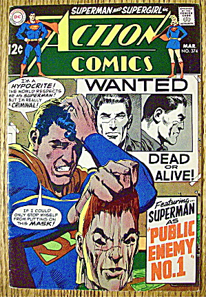 Action Comics #374 March 1969 Public Enemy # 1 (Image1)