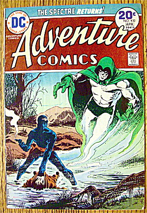 Adventure Comics #432 April 1974 Spectre Returns (Image1)