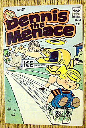 Dennis The Menace Comic #68 September 1963 Body English