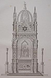 Tabernacle Dans L'Eglise D'or San Michele, A Florence (Image1)