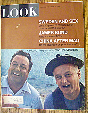 Look Magazine November 15, 1966 J. Gleason & A. Carney (Image1)