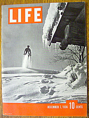 Life Magazine December 7, 1936 Skiing (Image1)