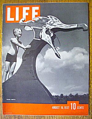 Life Magazine-August 16, 1937-Young Camper (Image1)