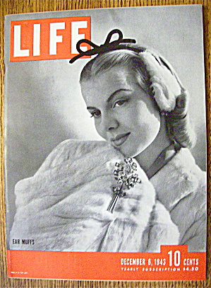 Life Magazine-December 6, 1943-Ear Muffs (Image1)