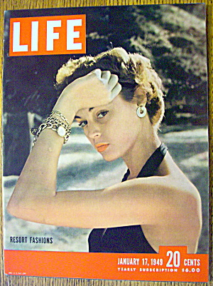 Life Magazine-Janaury 17, 1949-Resort Fashions (Image1)