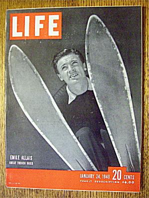 Life Magazine-Janaury 24, 1949-Emile Allais (Image1)