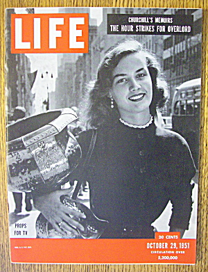 Life Magazine-October 29, 1951-Props For TV (Image1)