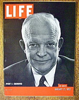 Life Magazine-January 21, 1952-Dwight D. Eisenhower (Image1)
