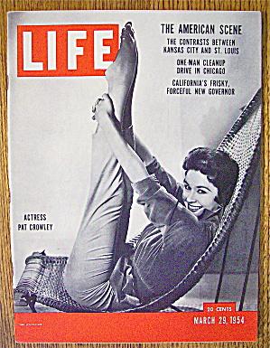Life Magazine-March 29, 1954-Pat Crowley (Image1)
