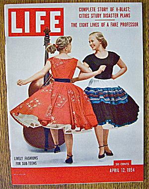 Life Magazine-April 12, 1954-Lively Fashions (Image1)