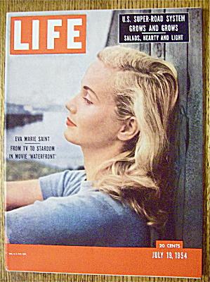 Life Magazine-July 19, 1954-Eva Marie Saint (Image1)