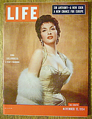 Life Magazine-November 15, 1954-Gina Lollobrigida (Image1)