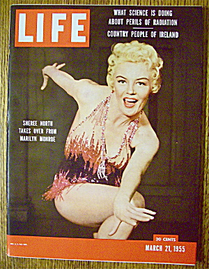 Life Magazine-march 21, 1955-sheree North