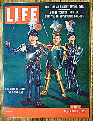 Life Magazine - December 19, 1955-$100 Suits Of Armor (Image1)