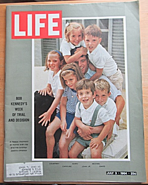 Life Magazine-july 3, 1964-bob Kennedy