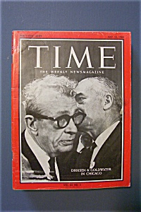 Time Magazine - July 10, 1964 - Dirksen & Goldwater (Image1)
