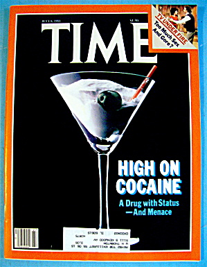 Time Magazine-july 6, 1981-high On Cocaine