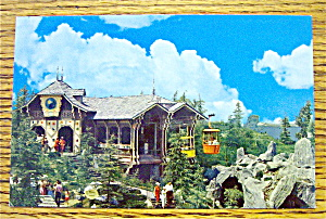 Skyride (The Magic Kingdom In Disneyland) Postcard