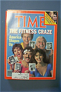 Time Magazine-november 2, 1981-the Fitness Craze