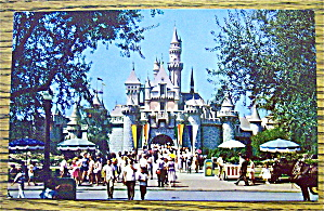 Sleeping Beauty Castle In Disneyland Postcard (Image1)